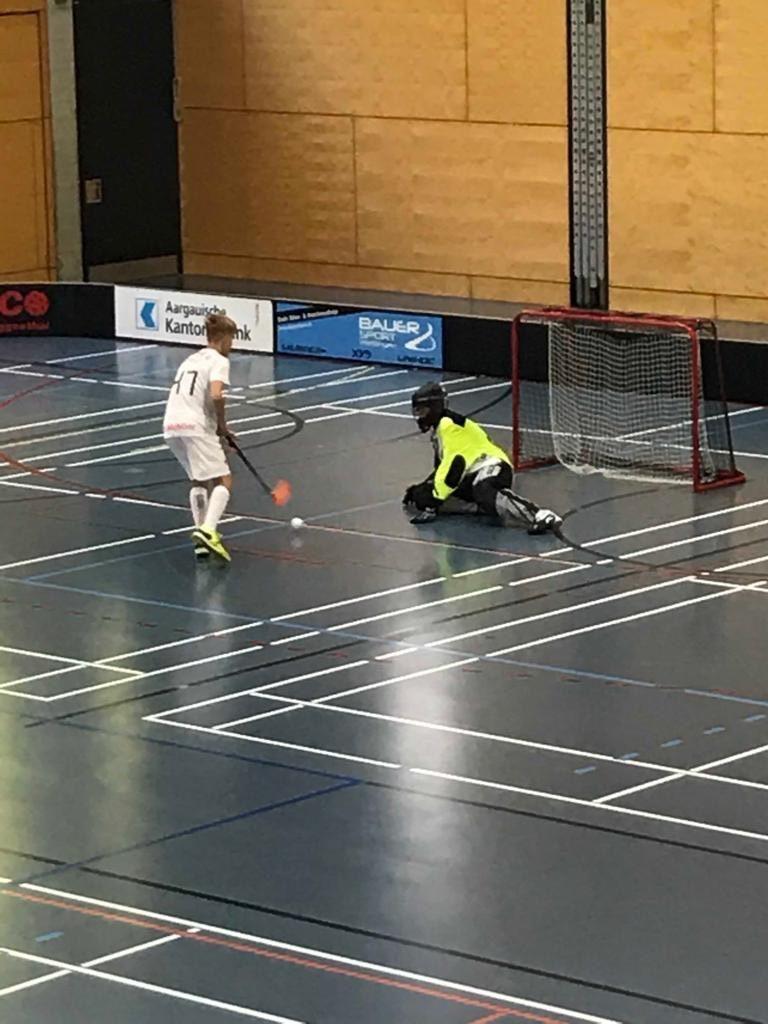 U16B: Sieg nach Verlängerung gegen Unihockey Fricktal