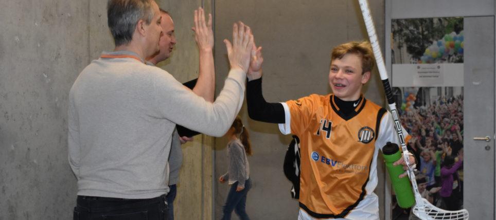 U16B: Heimrunde zum Jahresbeginn