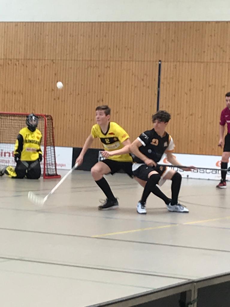 U16B: Vorletztes Spiel vs. HC Rychenberg Winterthur